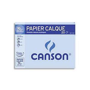 CANSON Papier calque A4 uni 90g - Pochette de 100 feuilles