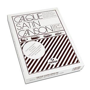 CANSON Papier calque satin A4, 90/95 g/m² - ramette 500 feuilles