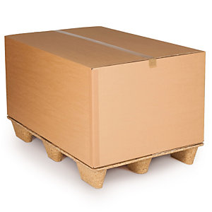 Capacitainer pallet boxes with Inka Presswood pallet offer an all-in-one solution
