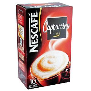 Cappuccino Nescafé, boîte de 10 sachets