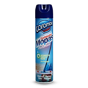 Caramba Garbipolvo Mopas, Impregnador de Mopas Desinfectante, 600 ml, Tapón Pulverizador, Perfumado