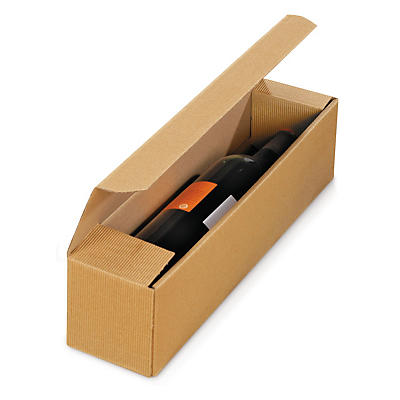 Cardboard bottle gift boxes