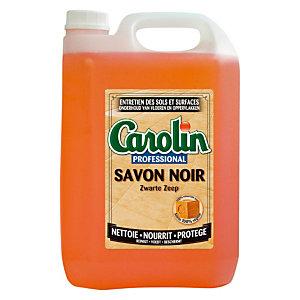 Carolin Savon Noir Sans parfum, Bidon de  5 L