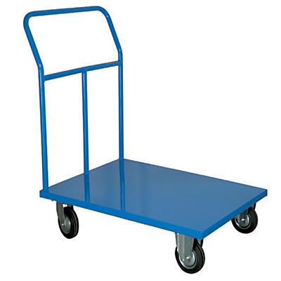 Carrello con pianale ruote gommate portata 300 kg