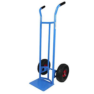 Carrello porta fusti ruote pneumatiche portata 200 kg