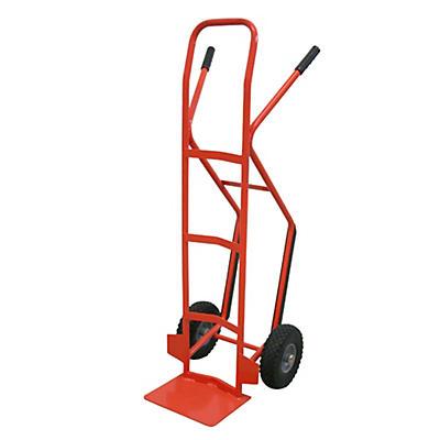 Carrello portapacchi con scivolo ruote antiforatura portata 200 kg