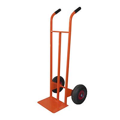 Carrello portapacchi ruote antiforatura portata 160 kg