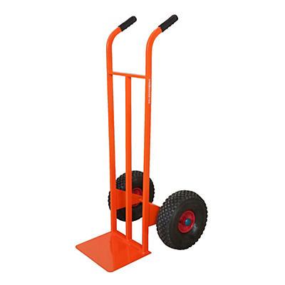 Carrello portapacchi ruote pneumatiche portata 300  kg