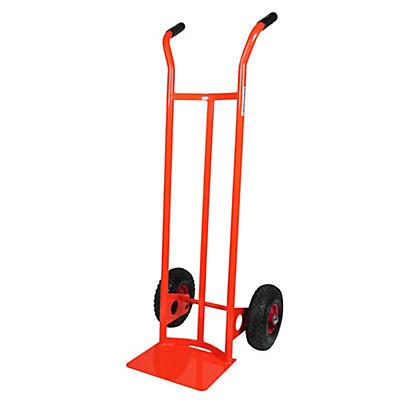 Carrello portapacchi spalla curva ruote pneumatiche  portata 200 kg
