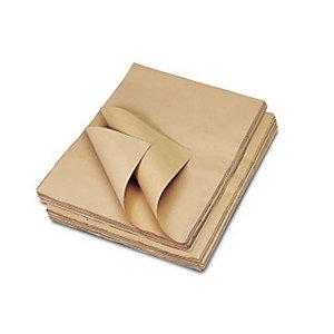 Carta da pacchi avana - 100 x 140 cm - Conf. 50 fg. (confezione 50 fogli)