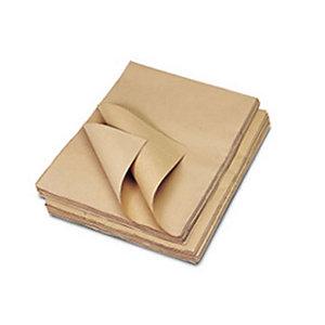 Carta da pacchi avana - 70 x 100 cm - Conf. 50 fg. (confezione 50 fogli)