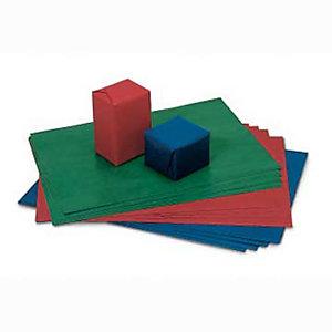 Carta da pacchi - Blu - 70 x 100 cm - Conf 10 fg. (confezione 10 fogli)