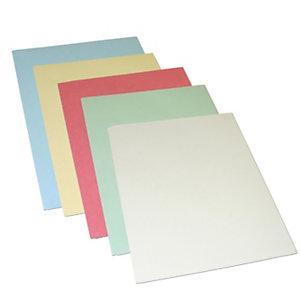 Cartellina a 3 lembi, 255 x 332 mm, Cartoncino manilla 145 g/m², Colori assortiti (confezione 50 pezzi)