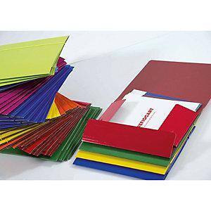 Cartellina a 3 lembi con elastico - Colori assortiti