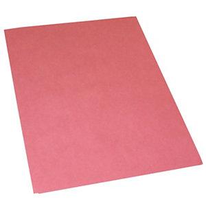 Cartellina semplice, Senza stampa, 24,4 x 34 cm, Cartoncino manilla riciclato al 100%, Rosso fragola (confezione 100 pezzi)