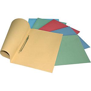 Cartelline con pressino fermafogli, Manilla, 250 x 345 mm, Azzurro pastello (confezione 25 pezzi)