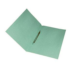 Cartelline con pressino fermafogli, Manilla, 250 x 345 mm, Verde pastello (confezione 25 pezzi)