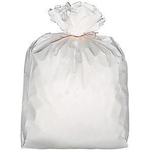 Carton de 1000 sacs poubelle plastiques Blanc 6 L (Carton de 1000 sacs)