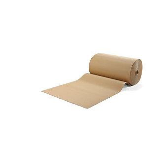 Carton ondulé 450 g/m², rouleau de 50 m largeur 1 m