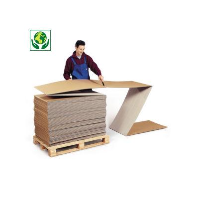 Cartone a modulo continuo per prodotti lunghi