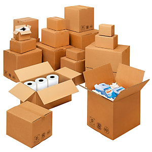 Cartons double Cannelure 392x292x290