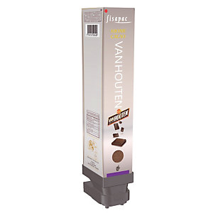 Cartouche boisson chaude Fisapac, arôme chocolat Van Houten