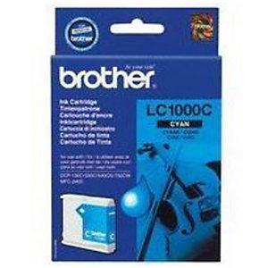 Cartouche Brother LC1000C cyan pour imprimantes jet d'encre