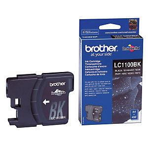 Cartouche Brother LC1100BK noir pour imprimante jet d'encre