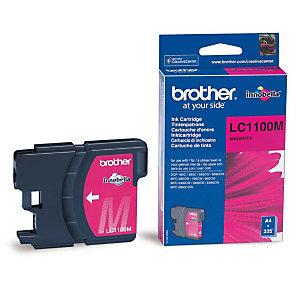 Cartouche Brother LC1100M magenta pour imprimantes jet d'encre