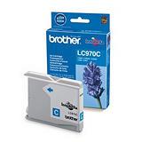 Cartouche Brother LC970C cyan pour imprimantes jet d'encre##Inktcartridge Brother LC970C cyaan voor inkjet printers