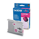 Cartouche Brother LC970M magenta pour imprimantes jet d'encre##Inktcartridge Brother LC970M magenta voor inkjet printers