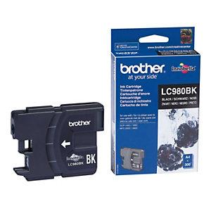 Cartouche Brother LC980BK noir pour imprimantes jet d'encre