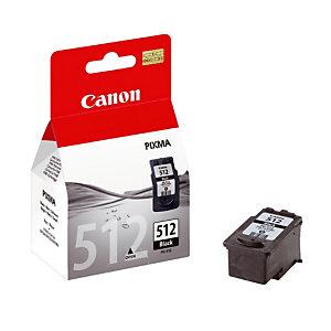 Cartouche Canon PG 512 XL noir pour imprimante jet d'encre