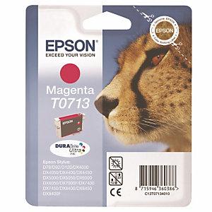 Cartouche Epson T0713 magenta pour imprimantes jet d'encre