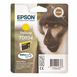 Cartouche Epson T0894 jaune pour imprimantes jet d'encre