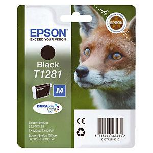 Cartouche Epson T1281 noir pour imprimantes jet d'encre
