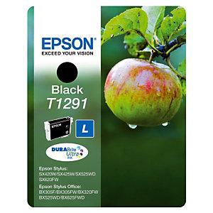 Cartouche Epson T1291 noir pour imprimantes jet d'encre