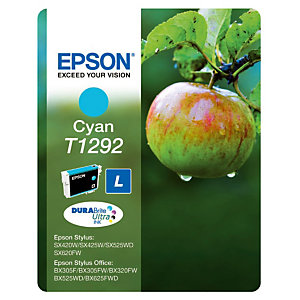 Cartouche Epson T1292 cyan pour imprimantes jet d'encre