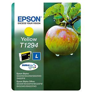 Cartouche Epson T1294 jaune pour imprimantes jet d'encre