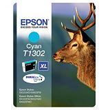 Cartouche Epson T1302 cyan pour imprimantes jet d'encre