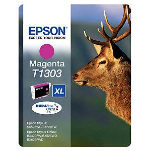 Cartouche Epson T1303 magenta pour imprimantes jet d'encre