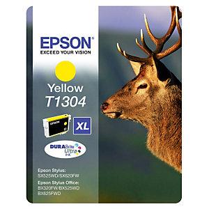 Cartouche Epson T1304 jaune pour imprimantes jet d'encre