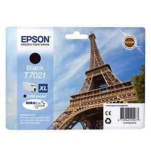 Cartouche Epson T7021 noir pour imprimantes jet d'encre