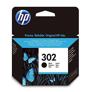Cartouche HP 302 noir pour imprimantes jet d'encre