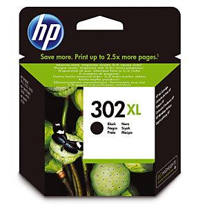 Cartouche HP 302 XL noir pour imprimantes jet d'encre