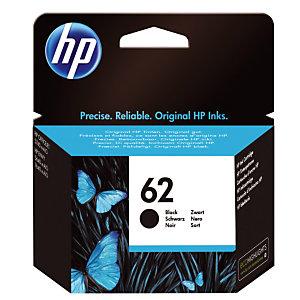 Cartouche HP 62 noir pour imprimantes jet d'encre