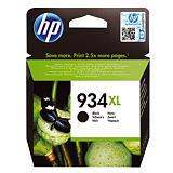 Cartouche HP 934 XL noir pour imprimantes jet d'encre