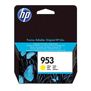 Cartouche HP 953 jaune pour imprimantes jet d'encre