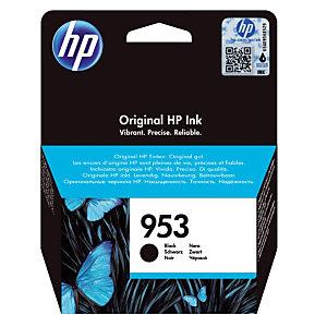 Cartouche HP 953 noire pour imprimantes jet d'encre