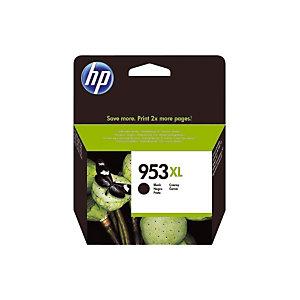 Cartouche HP 953 XL noir pour imprimantes jet d'encre